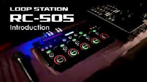 loopstation videolike roland boss rc 505 rc505 tabletop looper loop station fx