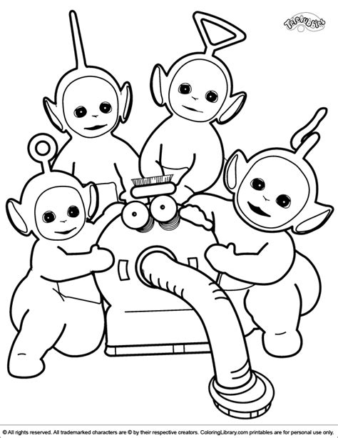 Teletubbies Coloring Pages by Teletubbies Coloring Page Coloring Pages
