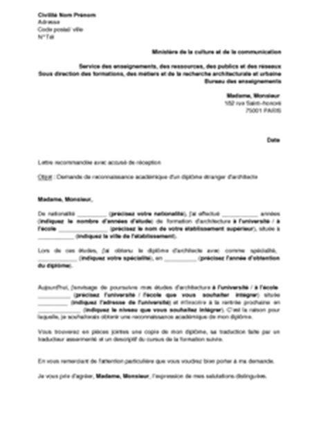lettre demande d emploi architecte employment application