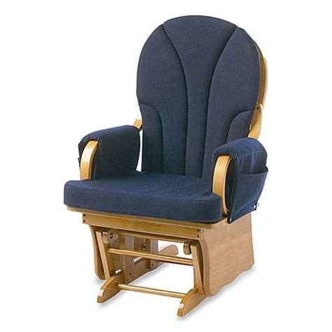 blue glider chair foundations 174 lullaby glider in navy blue