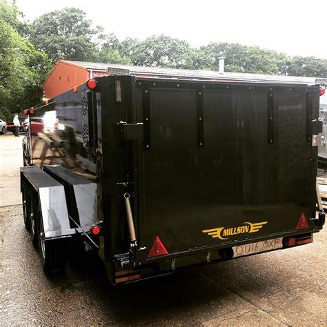 millson livestock trailers cargo freight company