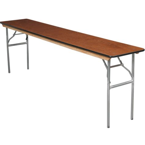 how wide is an 8 banquet table 6 x 18 wide thin style banquet tables