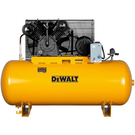 dewalt 120 gal 2 stage electric air compressor