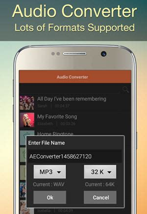 best wav to mp3 converter on android - Audio Converter For Android