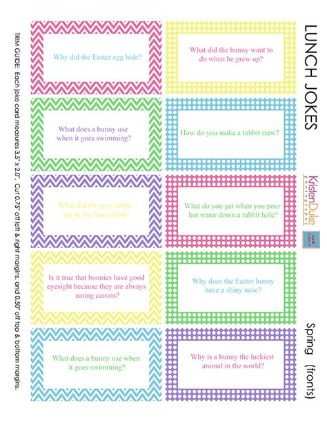 printable easter lunch box jokes easter lunch jokes capturing joy with kristen duke