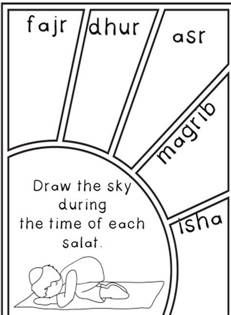 printable children s islamic activities 192 best images about islamic studies salah on