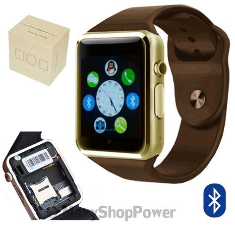 New Afida Maxy T2909 1 maxy smartwatch orologio cellulare sim bluetooth a1 brown