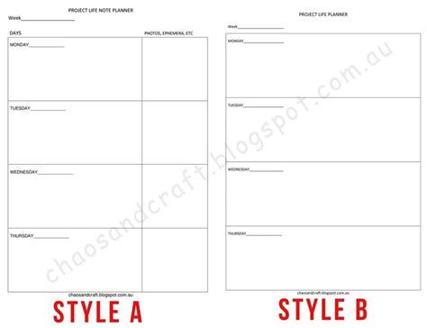 project life printable planner 1000 images about project life pl 225 nov 225 n 237 on pinterest