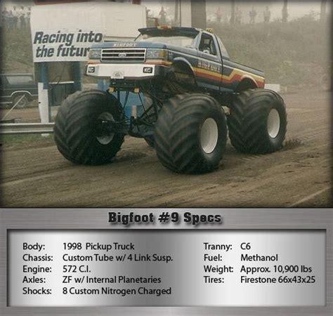 bigfoot 9 truck bigfoot 9 trucks bigfoot