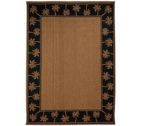 Veranda Living Indoor Outdoor Rug Veranda Living Indoor Outdoor Reversible 7 X 10 Paradise Rug M46724 Qvc