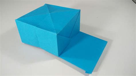 Origami Cap - how to make a paper cap origami