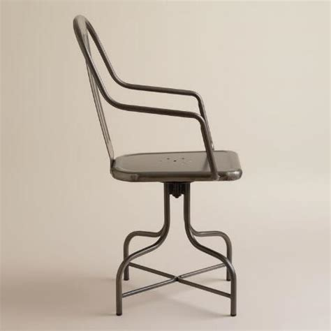 World Market Metal Chairs by Celia Metal Swivel Chair World Market