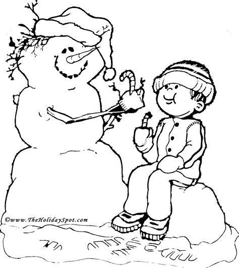 christmas coloring book pictures to color