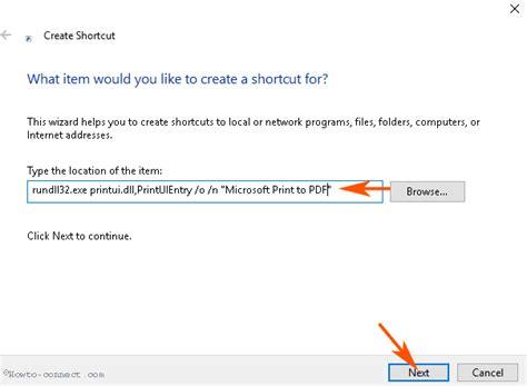 Copenhagen To Queue For Shortcut 6 by How To Create Shortcut To Printer Queue In Windows 10