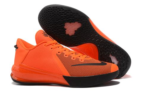basketball shoes bryant ventilation nike venomenon 6 orange black s