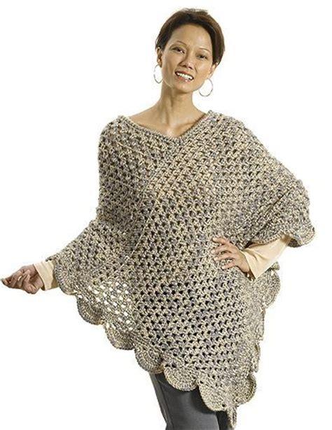 crochet poncho pattern free pinterest perfect beginner crochet poncho free pattern by sherrie