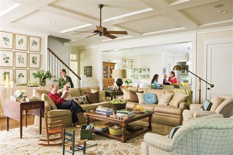 southern living family rooms a true family room home ideas for southern charm