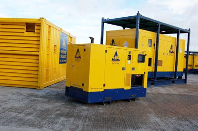 kva limited hire offshore generators