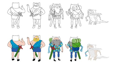best character designers 3 top character design tips from adventure time s lead