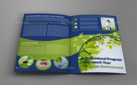 Environment Eco Bi Fold Brochure Template By Owpictures Graphicriver Environment Brochure Template