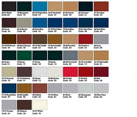 color chart 2015 corvette html autos post