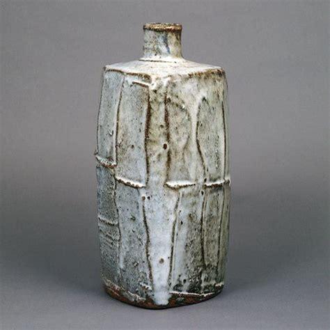 Marshalls Vases William Marshall Glazed Stoneware Triangular Vase C1970