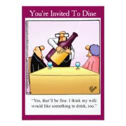 funny dinner invitation wording bing images