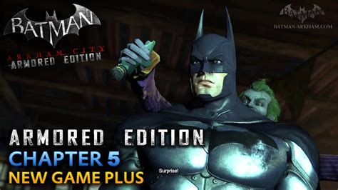 Wii U Batman Arkham City Armored Edition batman arkham city armored edition wii u walkthrough chapter 5 joker s