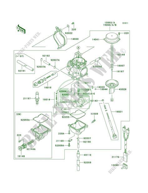 2006 Kawasaki Prairie 360 Carburetor Diagram kawasaki prairie carburetor diagram 35 wiring diagram