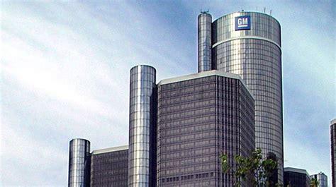 General Motors Corporate Office by General Motors Global Headquarters Renaissance Center Pma