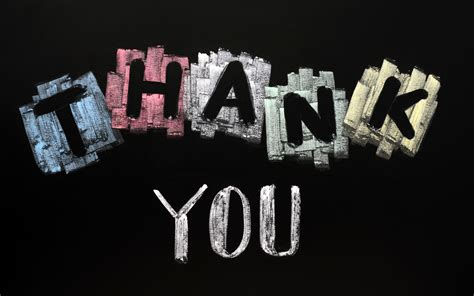 Background Thank You | thank you background powerpoint backgrounds for free