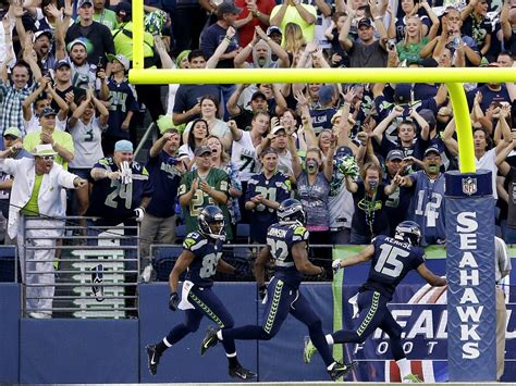 seattle seahawks fan why being the s loudest stadium is a bad idea