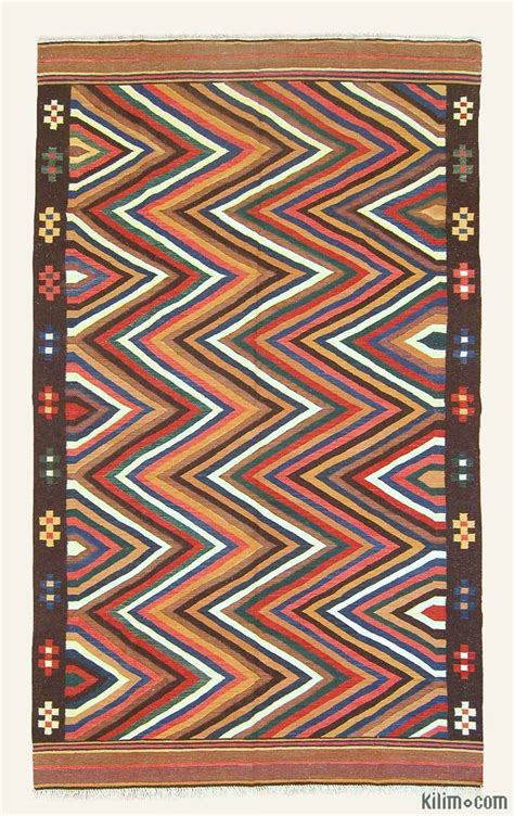 kilim area rug k0004621 multicolor new turkish kilim area rug
