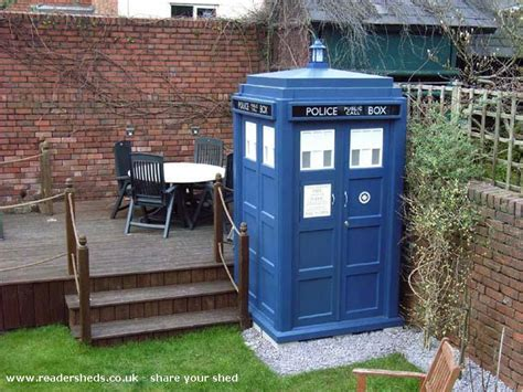 Tardis Garden Shed by Website And The Novelty Garden Shed Of The Year Is