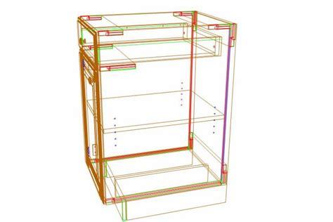 kitchen cabinet construction optimizing frameless cabinet construction for materials saving