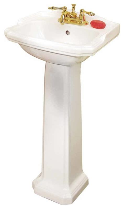 space saving bathroom sink pedestal sinks white china cloakroom space saving pedestal sink 19355 transitional