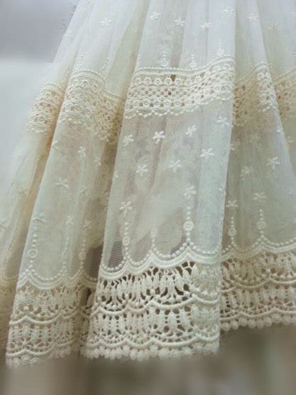 brautschuhe spitze stoff ivory lace fabric embroidered tulle lace fabric vintage lace