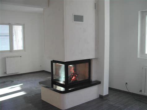 foyer 3 faces gaz prix cheminee insert 3 faces