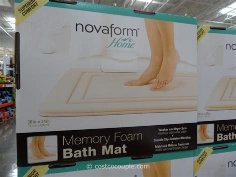 Memory Foam Kitchen Mat Costco by Novaform Memory Foam Bath Mat