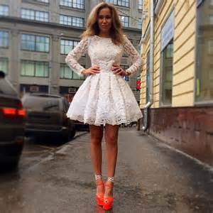 Dresses short lace party dress ja613 from reliable dresses for big