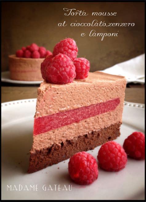 Gluten Free Chiffon Cake 18cm torta mousse al cioccolato fondente loni e zenzero