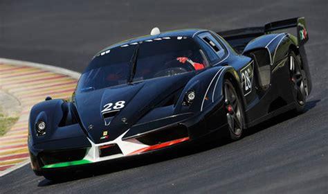 Schnellstes Auto In Le Mans by Ferrari Fxx Evoluzione Bugatti Veyron And Peugeot Le Mans