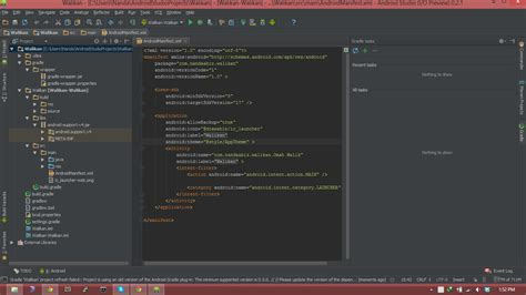 eclipse theme android studio mengubah tema android studio ide