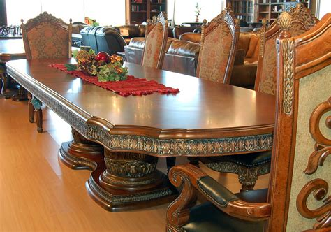 design of wooden dining set from chaina wood the house 11 piece ornate carved dining table chair sideboard and