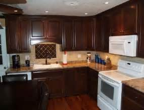 Black Stained Kitchen Cabinets by Stained Cabinets