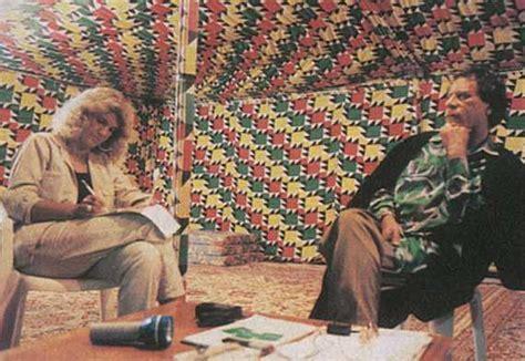 tenda gheddafi siamo amici di muammar