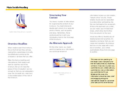 microsoft word travel brochure template professional sles templates part 4