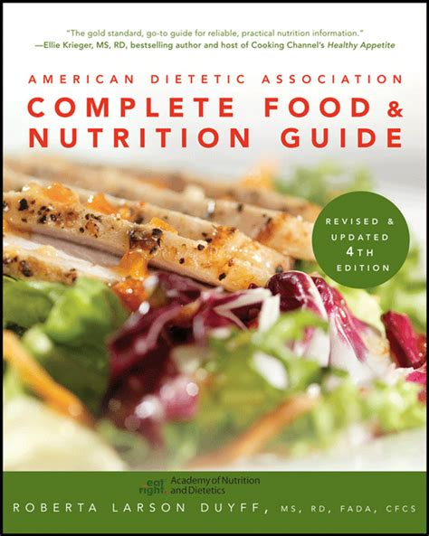 nutrition from science to you 4th edition books american dietetic association complete food and nutrition