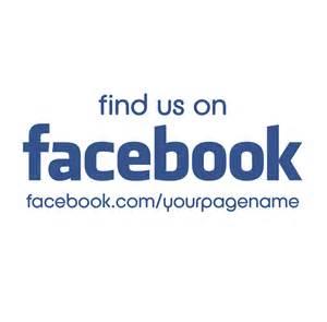 customised find us on facebook sticker 163 1 99 blunt one