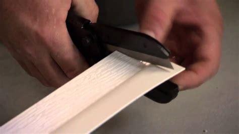 Install Door Trim by How To Install Vinyl Thermostop Garage Door Trim